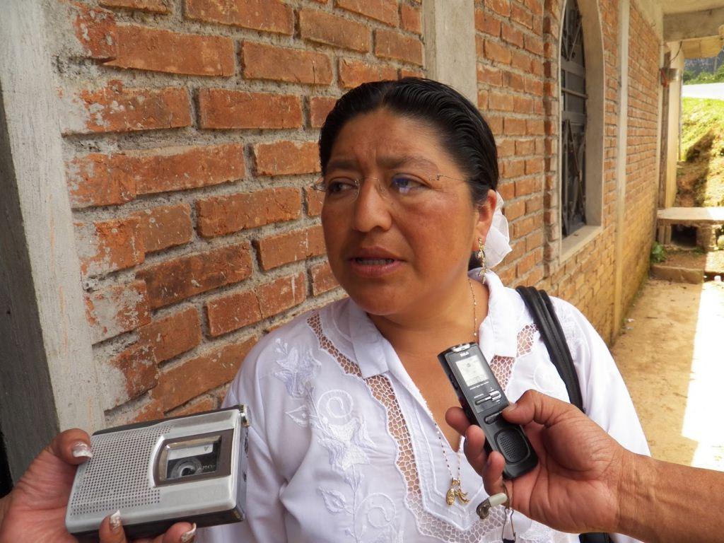 Resultado de imagen para LA ALCALDESA BERNARDINA TEQUILIQUIHUA AJACTLE