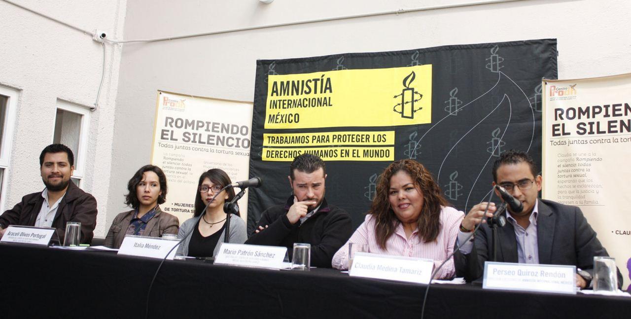 Claudia Medina Tamariz obtuvo su libertad