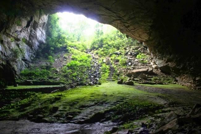 Cueva de Totomochoapa. (2)