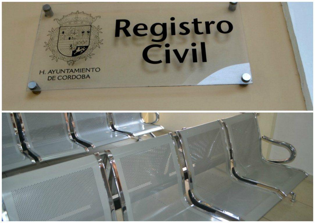Modernas pero defectuosas, sillas del Registro Civil en Córdoba