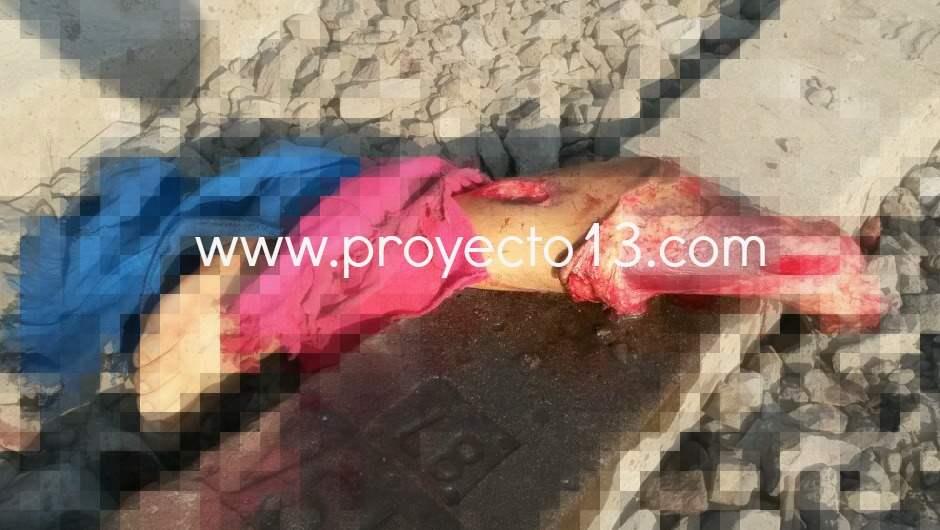 Identifican cuerpo de joven despedazado en la vía del ferrocarril