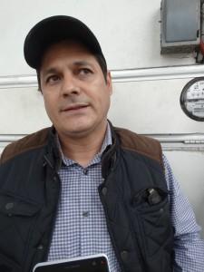 Alcalde de Cuitláhuac, Rene Saldaña.