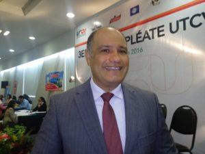 Francisco Rangel, rector de la UTCV.