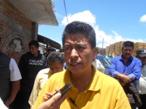 Bonifacio Aguilar, alcalde de Soledad Atzompa
