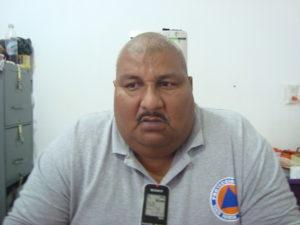 Director de Protección Civil Municipal, Salvador Cruz García