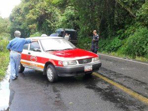 Choca y se da a la fuga, fue capturado por policía de Sochiapa (4)