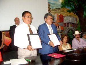 firma de convenio en ciudad mendoza  con tec de orizaba