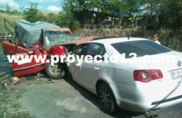 Muere policía ministerial y tres más resultan lesionados en fatal accidente en Paso del Macho