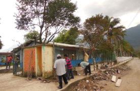 CITEV A.C entrega material para construcción de barda en preescolar de Ixhuatlancillo