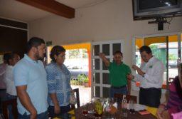 Toma protesta Cuahtémoc Yáñez como delegado municipal del PVEM en Atoyac
