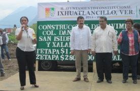 Invertirán $4 millones para obras en Ixhuatlancillo