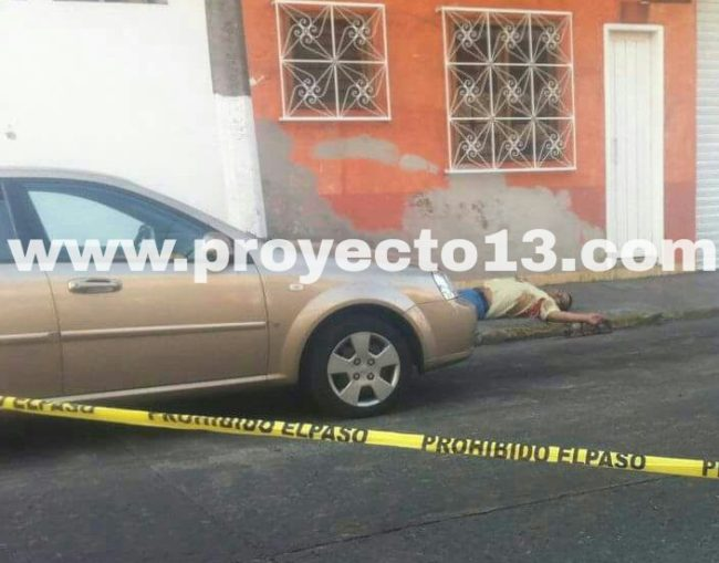 Balean a hombre a un costado del DIF municipal de Córdoba