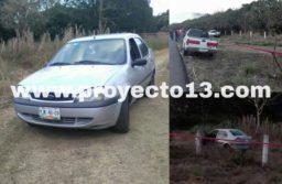 Encuentran ejecutado dentro de un auto; en la federal Córdoba-Veracruz