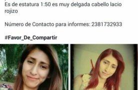 Reportan desaparición de joven, en Tehuacán